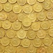 Stock Photo: Rows of coins