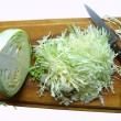 Cabbage on breadboard — Stok Fotoğraf #2954348