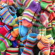 Colored socks - Stock Photo