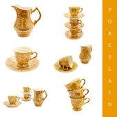 Porcelain set — Stock Photo