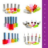 Nail polish set — Stock Photo