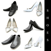 Shoes set — Stock Photo