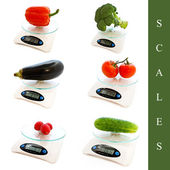 Scales set — Stock Photo