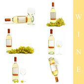 Wine set — Stock Photo