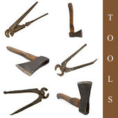 Tool set — Stock Photo
