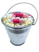Tablet bucket — Stock Photo