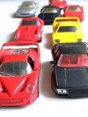 Toy traffic — Stock Photo