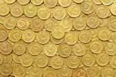Rows of coins — Stock Photo