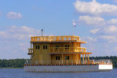 House on the water — Stock Photo