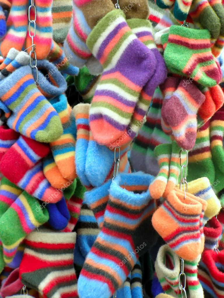 A lot of colored socks     — Stock Photo #2954353