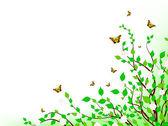 Spring inspiration — Stock Vector
