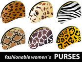 Women`s purses — Stock Vector