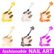 Royalty-Free Stock Vector Image: Nail art