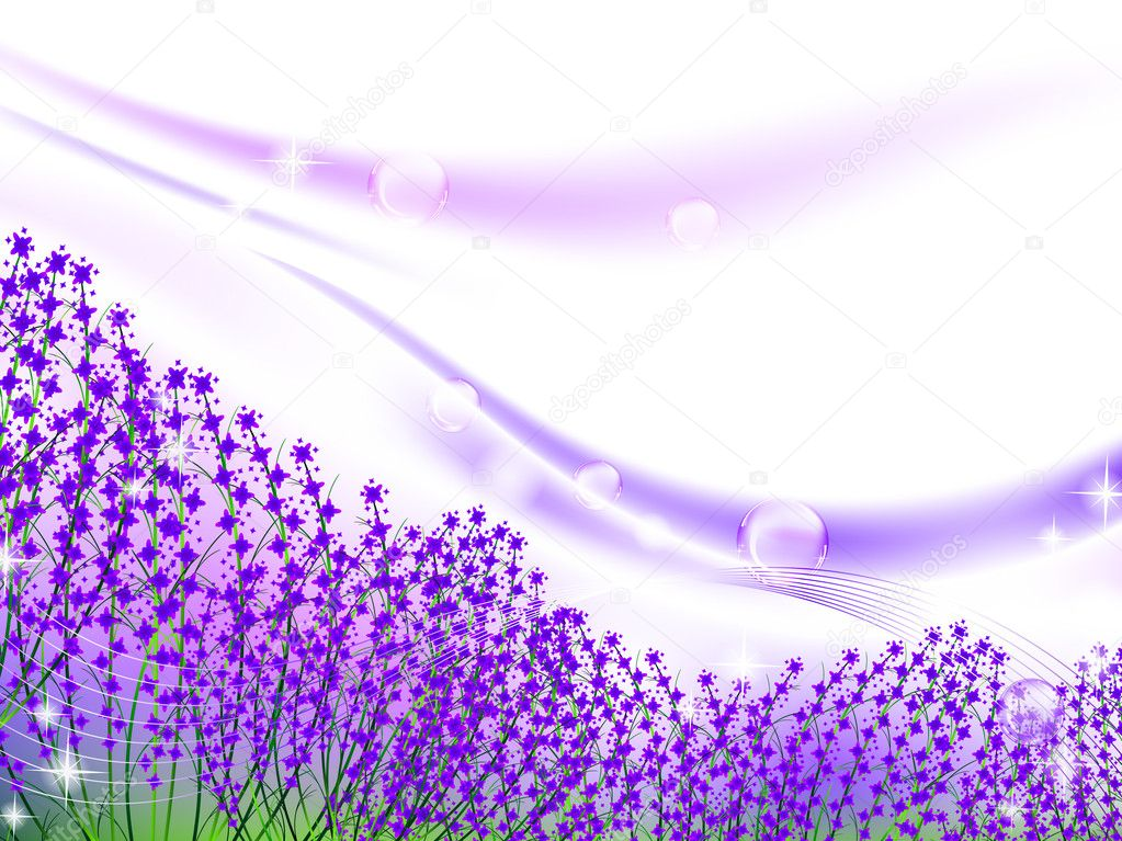 Abstract: Lavender by kabegami on DeviantArt