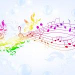 Musical fantasy — Stock Vector