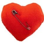 Pierced heart — Stock Photo
