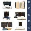Stock Photo: Books set