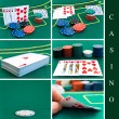 Casino set — Stock Photo