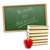 """Back to school!"" — Stock Photo"