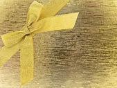 Golden bow — Zdjęcie stockowe