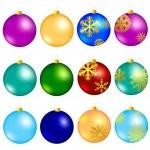 New year balls — Stock Vector #3621607
