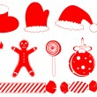 Royalty-Free Stock Vector Image: Christmas set