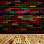 Rainbow interior — Stock Photo