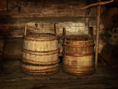 Wooden vats — Stock Photo