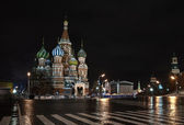 St. Basil Catedral in Moscow. Russia — Stock Photo