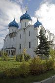 圣三位一体圣 sergius 修道院。埃大。俄罗斯 — 图库照片