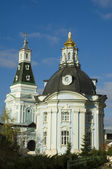 Den heliga treenighet-st sergius lavran. sergiev posad. ryssland — Stockfoto