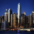 Stockfoto: Big Apple after sunset - new york manhat