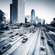 Los Angeles HighWay - Stock Photo