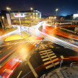 BIG Intersection at night — Foto Stock