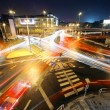 Royalty-Free Stock Photo: BIG Intersection at night