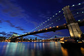 Big Apple after sunset - new york manhat — Stock Photo