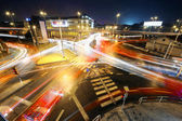 BIG Intersection at night — Stock Photo