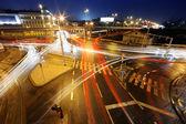 BIG Intersection at night — Stock Photo