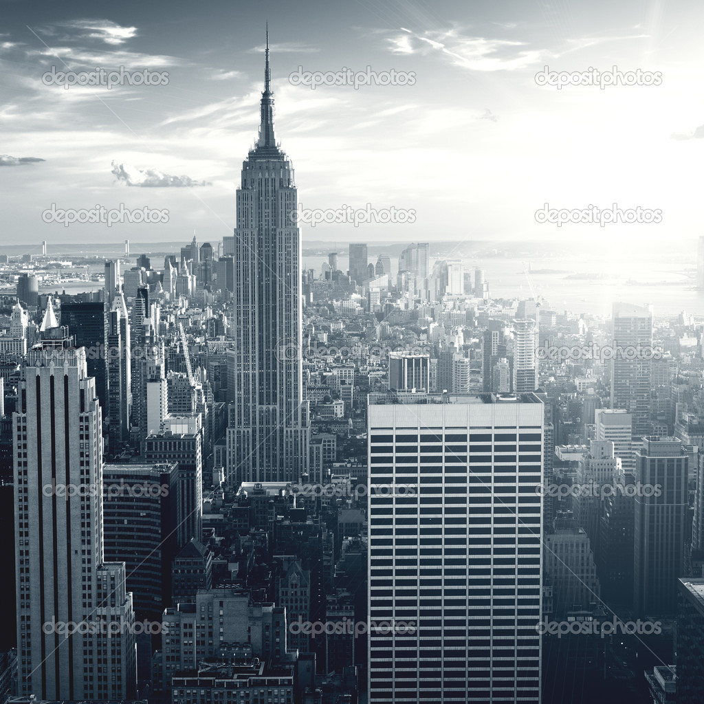 New york City skyscrapers — Foto Stock #3196316