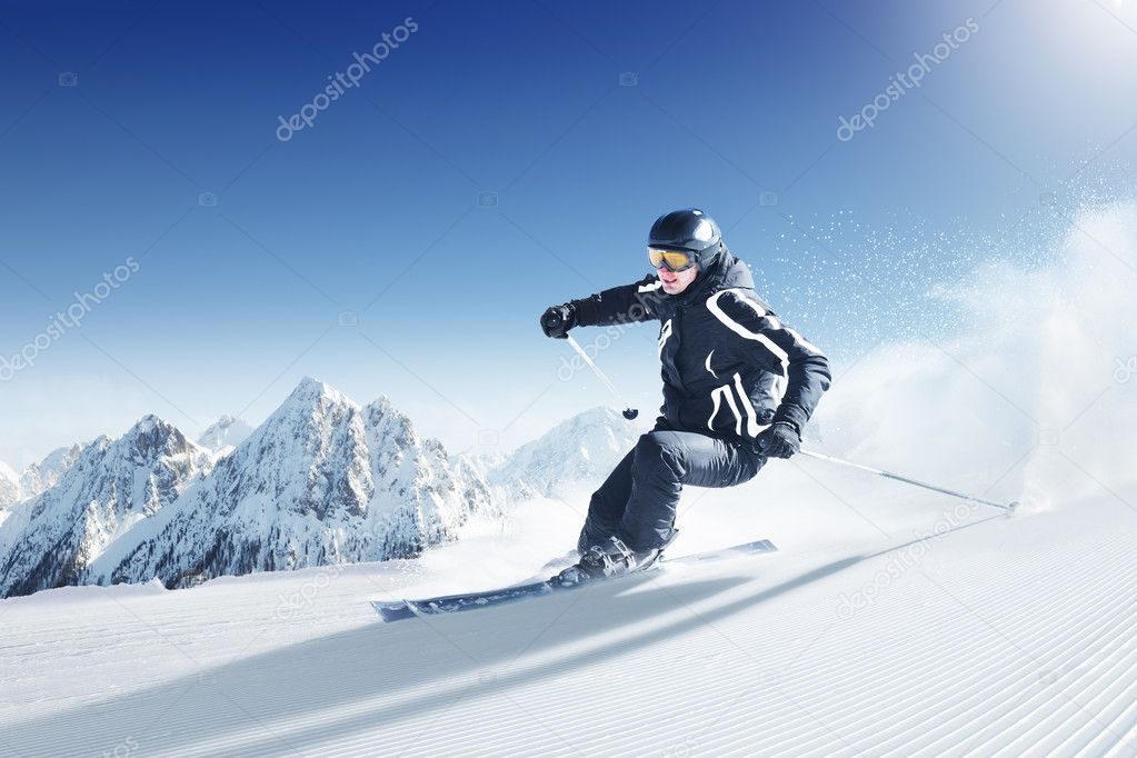 Ski photo from europe - alps — Stock Photo #3196421