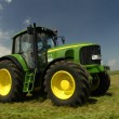 The tractor - Stockfoto