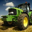 Stock Photo: The tractor