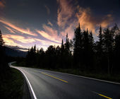 Norway road — Stock Photo