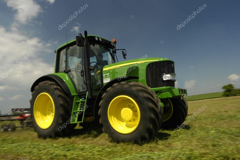 Heavy machinery in the fields  Stock Photo #3200926