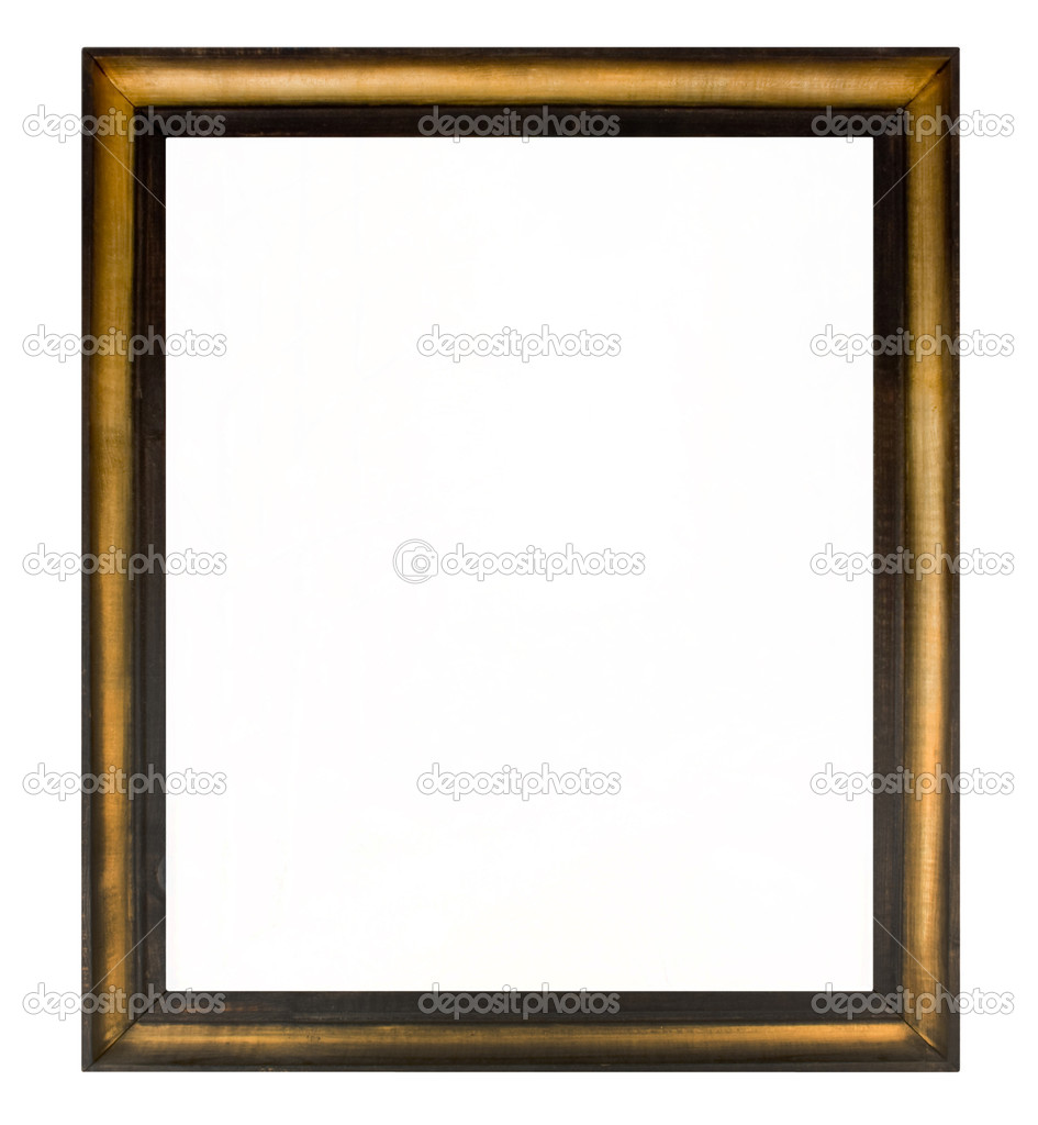 Painting frame stock image
