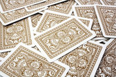 Playing cards background — Foto Stock