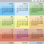 Calendar for 2011 — Stock Vector #3251223