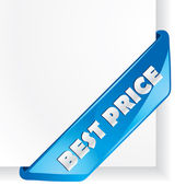 """Best Price"" vector corner — Stock Vector"
