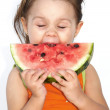 Eating watermelon — Stock Photo #2721983