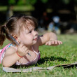 Little girl in the park — Stock Photo #2722260